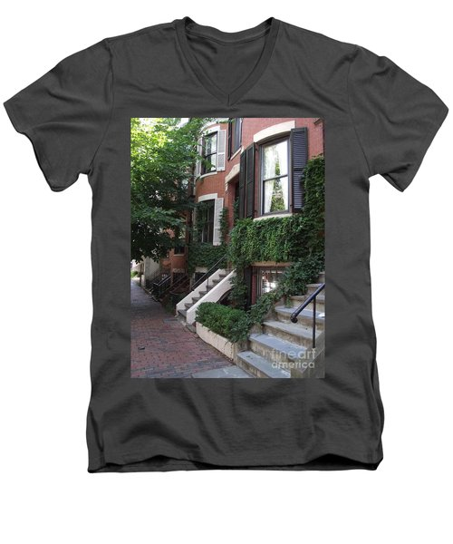 Ivy Walls Men's V-Neck T-Shirt