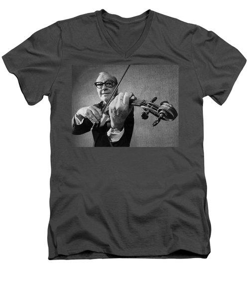 Jack Benny Farewell Men's V-Neck T-Shirt