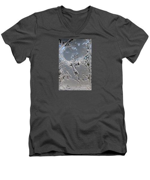 Jack Frost's Victory Dance Men's V-Neck T-Shirt