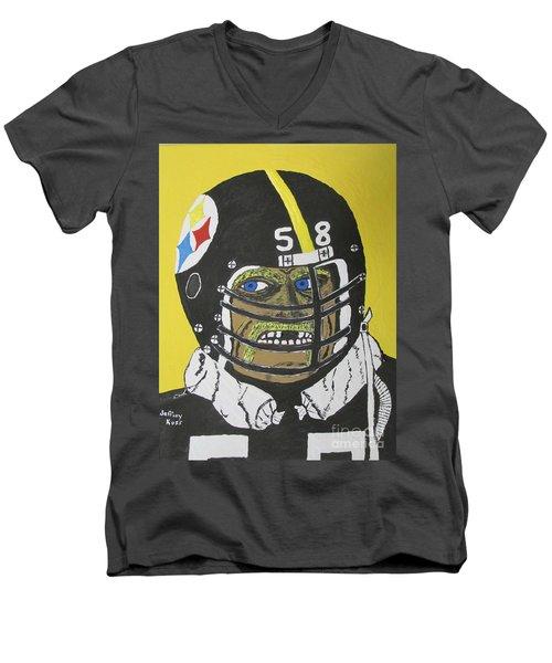 Jack Lambert Men's V-Neck T-Shirt
