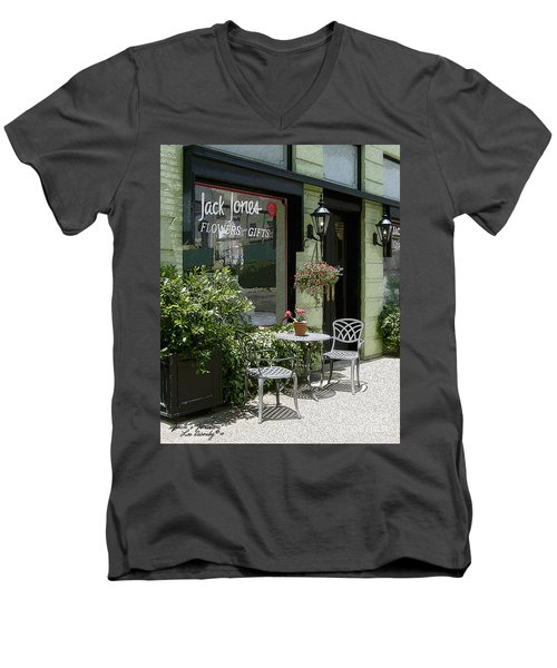 Jack's Java Men's V-Neck T-Shirt