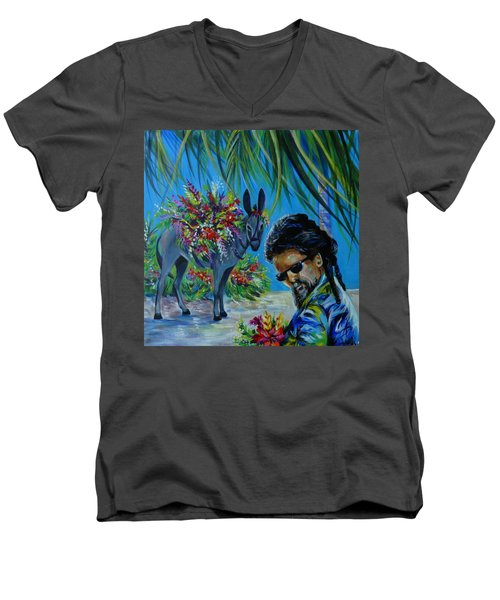 Jamaica.part One Men's V-Neck T-Shirt