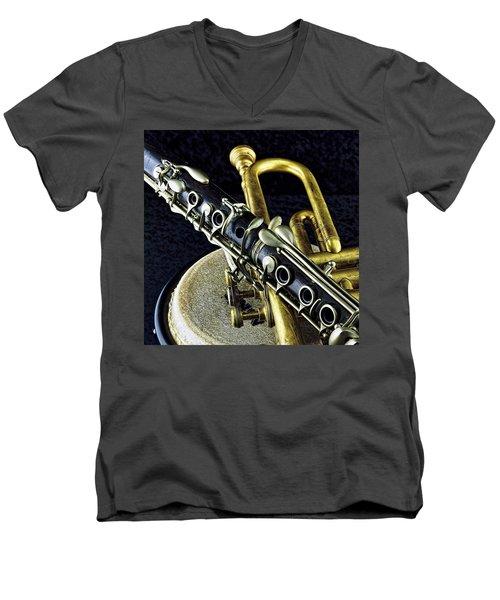 Jazz Men's V-Neck T-Shirt