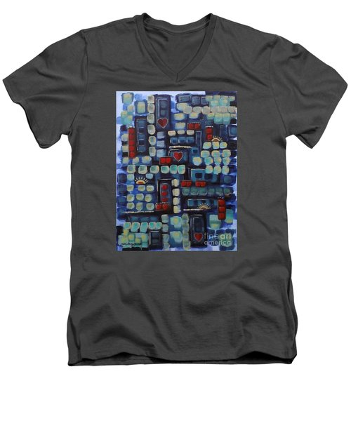 Jazzy Love Men's V-Neck T-Shirt