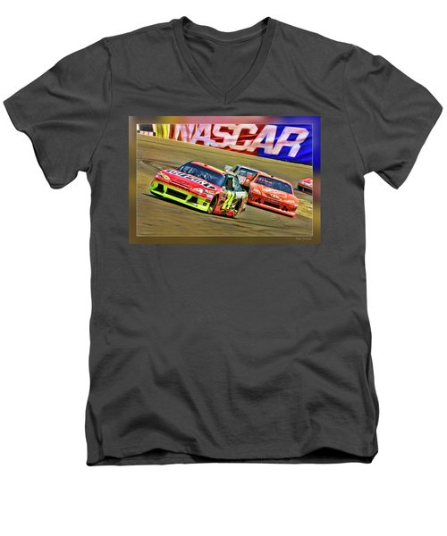Jeff Gordon-nascar Race Men's V-Neck T-Shirt