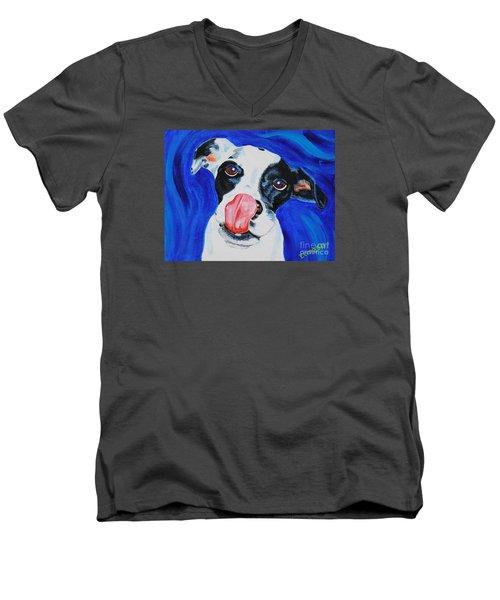 Jenga Men's V-Neck T-Shirt