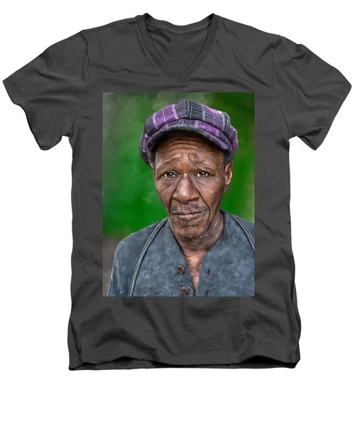 Jesse Men's V-Neck T-Shirt