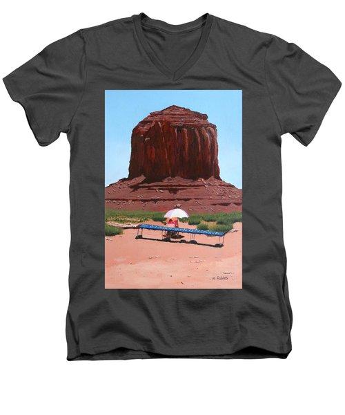 Jewelry Seller Men's V-Neck T-Shirt