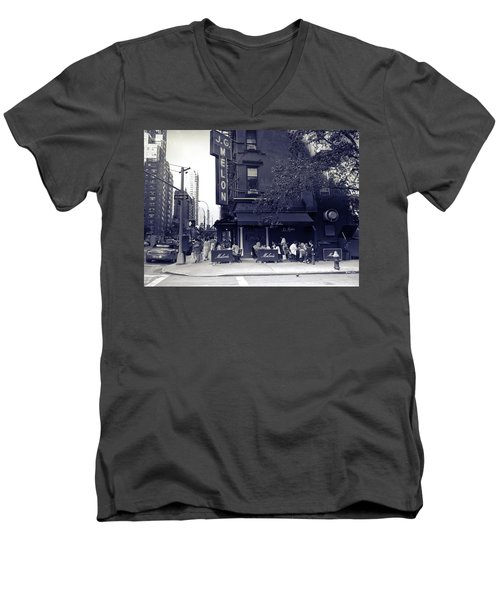 J.g. Melon - Manhattan  Men's V-Neck T-Shirt