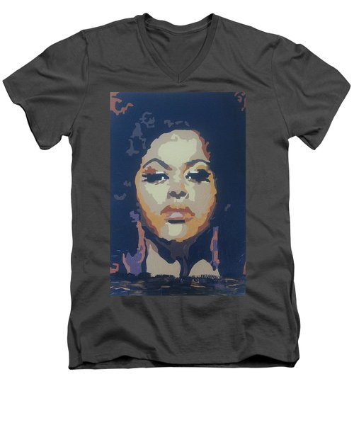 Jill Scott Men's V-Neck T-Shirt