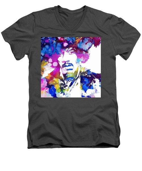 Jimi Hendrix - Stoned Men's V-Neck T-Shirt