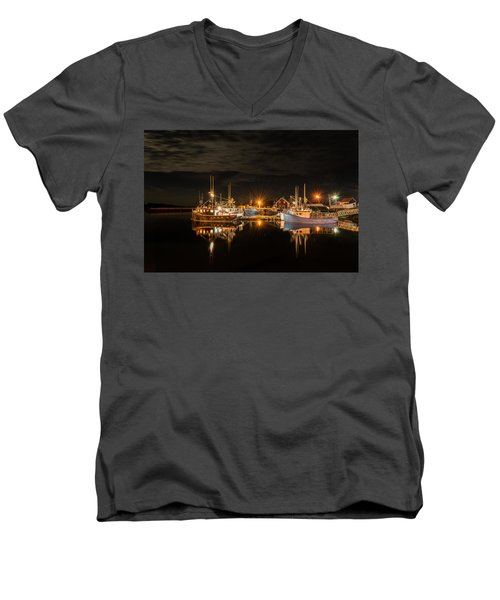 John's Cove Reflections - Revisited Men's V-Neck T-Shirt