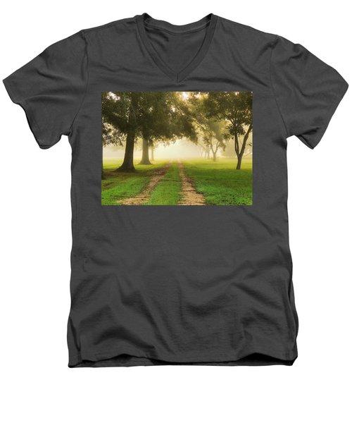 Journey Into Fall Men's V-Neck T-Shirt