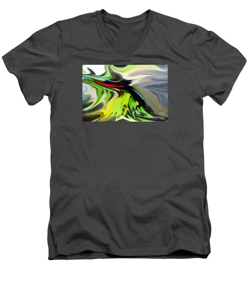 Men's V-Neck T-Shirt featuring the photograph Journey by Patricia Griffin Brett