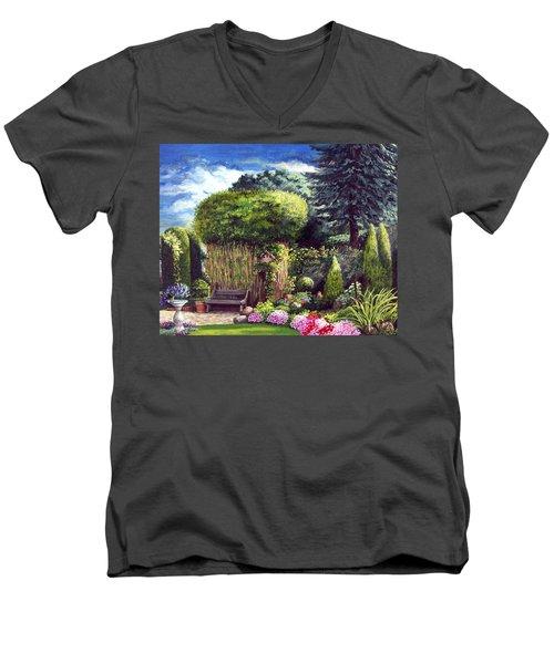 Joy's Garden Men's V-Neck T-Shirt
