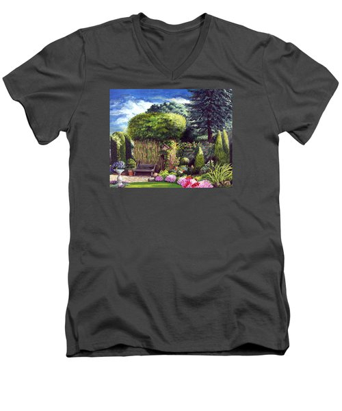 Joy's Garden Men's V-Neck T-Shirt