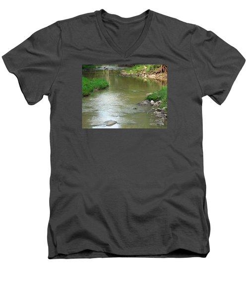 Jubilee Creek Men's V-Neck T-Shirt