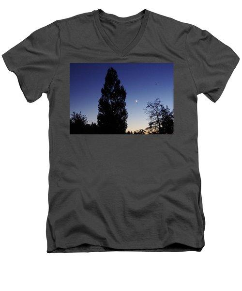 Julian Night Sky 2013 A Men's V-Neck T-Shirt