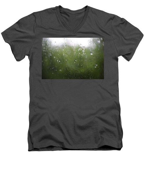 June Men's V-Neck T-Shirt