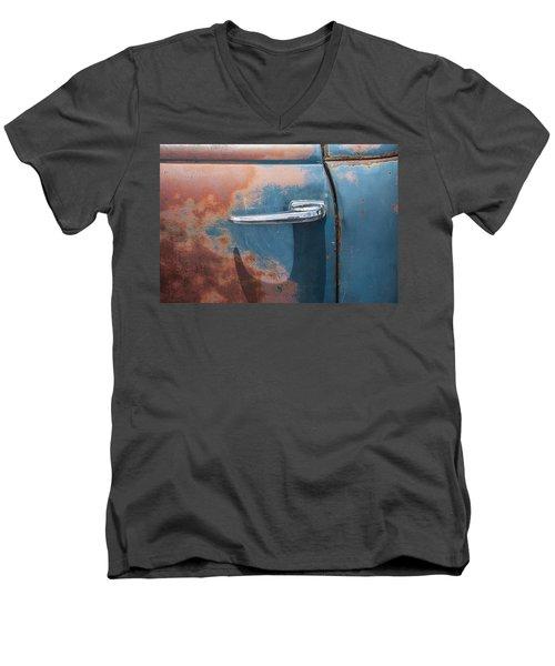 Just A Little Wax Men's V-Neck T-Shirt