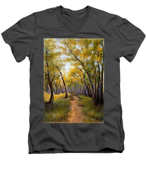 Just Before Autumn Men's V-Neck T-Shirt