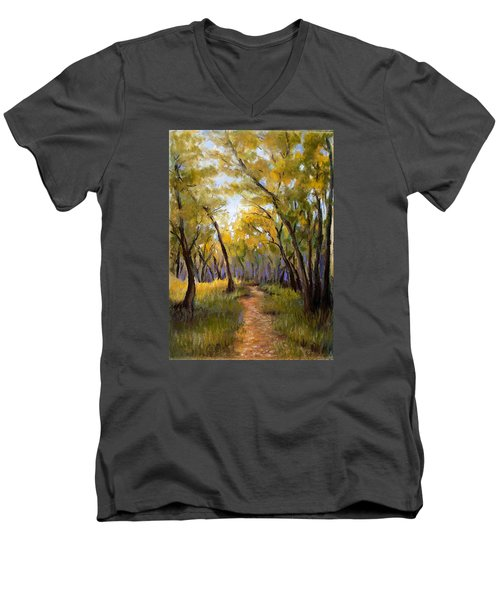 Just Before Autumn Men's V-Neck T-Shirt