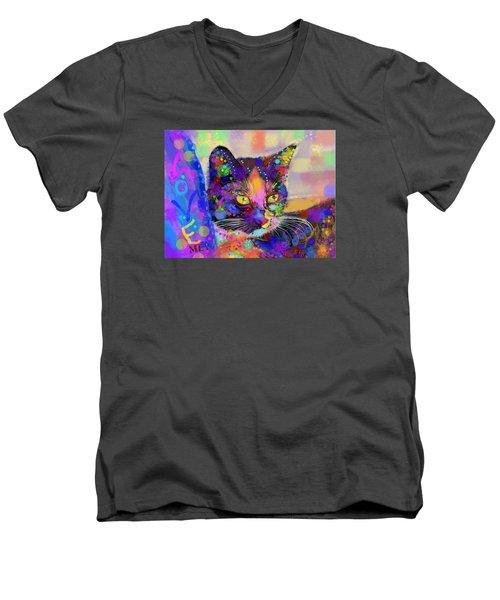 Just Love Me Men's V-Neck T-Shirt