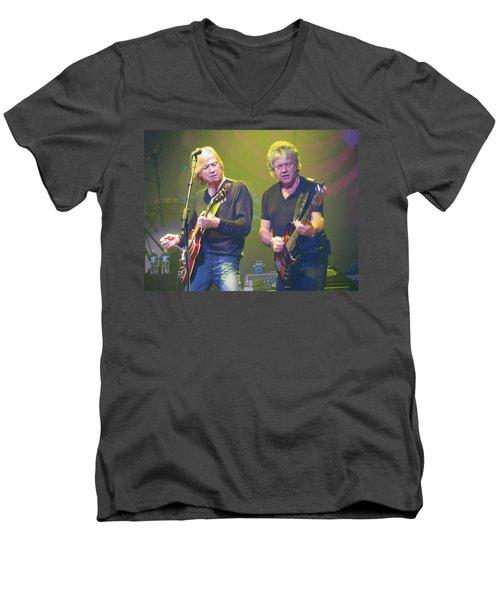 Justin Hayward And John Lodge Men's V-Neck T-Shirt