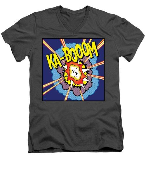 Ka-boom 2 Men's V-Neck T-Shirt