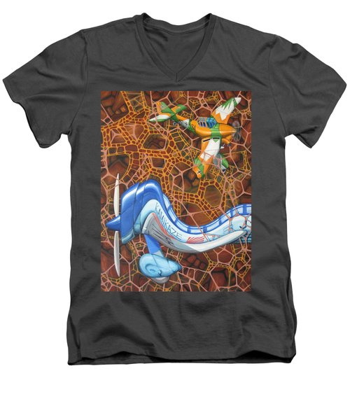 Kamikaze Kraze Men's V-Neck T-Shirt