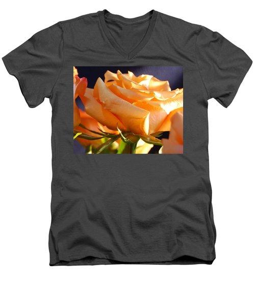 Kathy's Rose Men's V-Neck T-Shirt