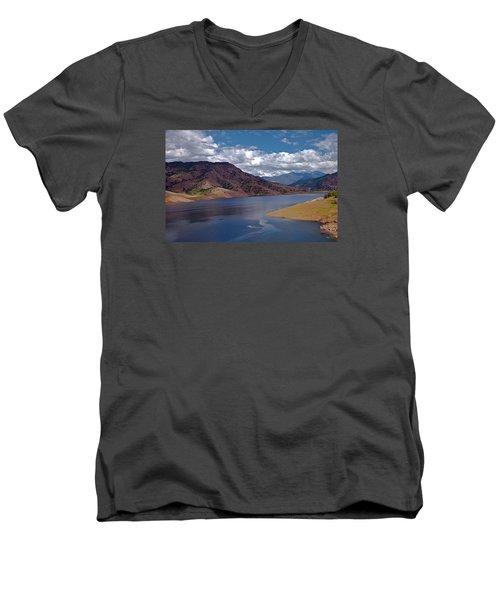 Kaweah Lake Men's V-Neck T-Shirt