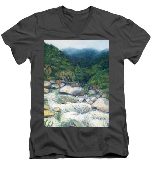 Kaweah River Men's V-Neck T-Shirt