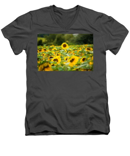 Keep Your Head Up Men's V-Neck T-Shirt by Michael Ver Sprill