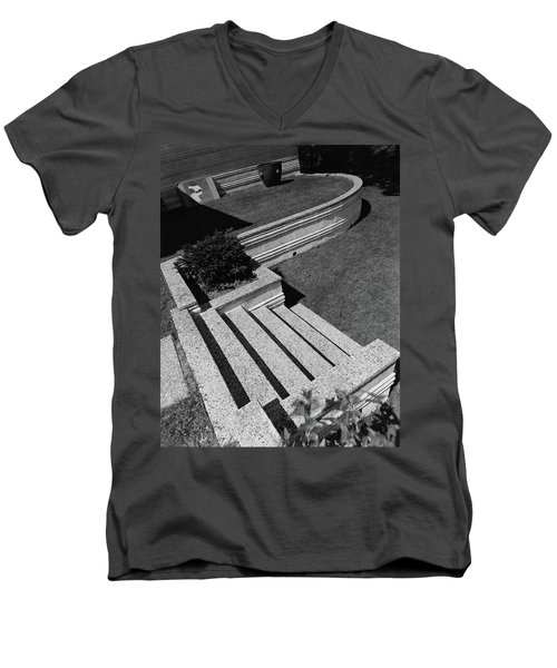 Kenneth Kassler's Garden Men's V-Neck T-Shirt