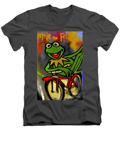 Kermit The Frog  Men's V-Neck T-Shirt