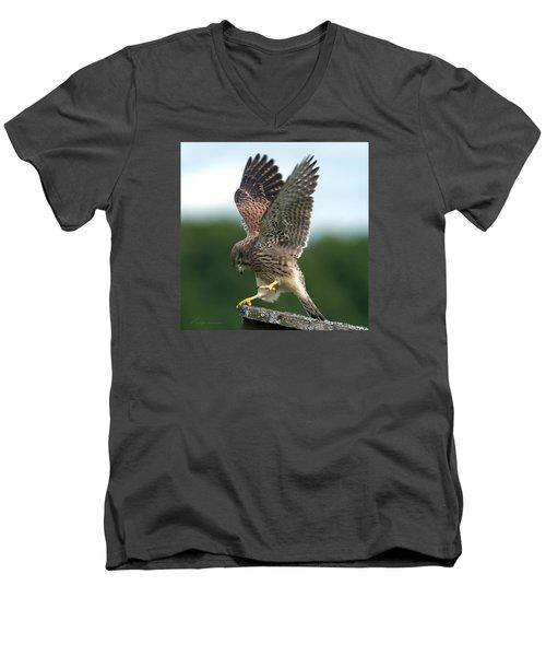 Kestrel's Performance Men's V-Neck T-Shirt