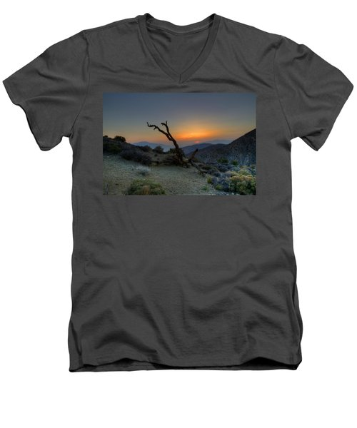 Keys View Sunset Men's V-Neck T-Shirt