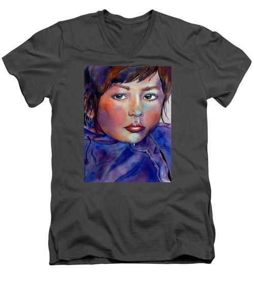 Kid Next Door Men's V-Neck T-Shirt