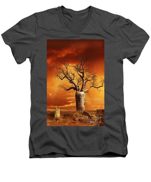 Kimberley Dreaming Men's V-Neck T-Shirt
