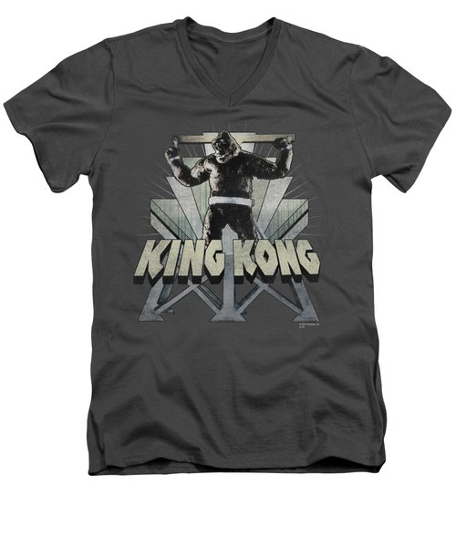 King Kong - 8th Wonder Men's V-Neck T-Shirt