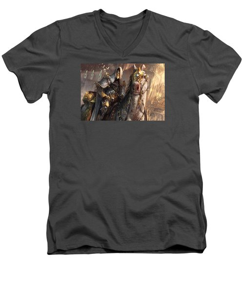 Knight Of Obligation Men's V-Neck T-Shirt