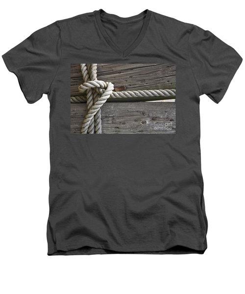 Knot Great Men's V-Neck T-Shirt