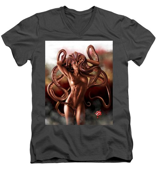 Kraken Men's V-Neck T-Shirt