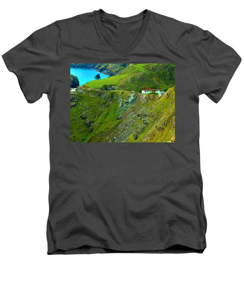 Kynance Cove Men's V-Neck T-Shirt