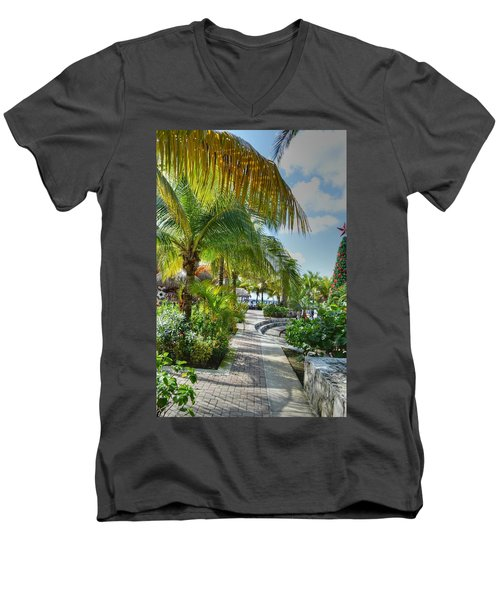 La Isla Bonita Men's V-Neck T-Shirt