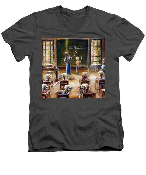 La Maestra Men's V-Neck T-Shirt