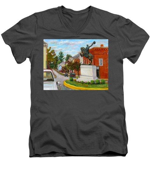 La030 Men's V-Neck T-Shirt