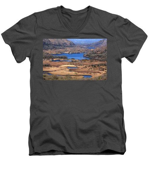 Ladies View Killarney National Park Men's V-Neck T-Shirt
