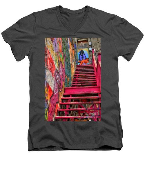 Laffy Daffy Men's V-Neck T-Shirt